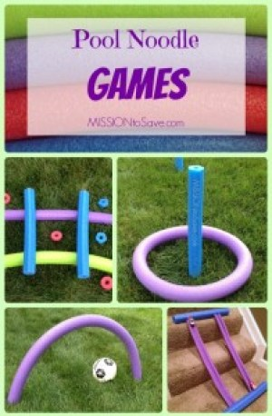 alternative uses for pool noodles roundup creative diy fun mission to save. Black Bedroom Furniture Sets. Home Design Ideas