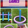 DIY Pool Noodle Games- No Water Needed! (Alternative Uses for Pool Noodles)