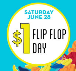 Old Navy $1 Flip Flop Sale, 6/28/14