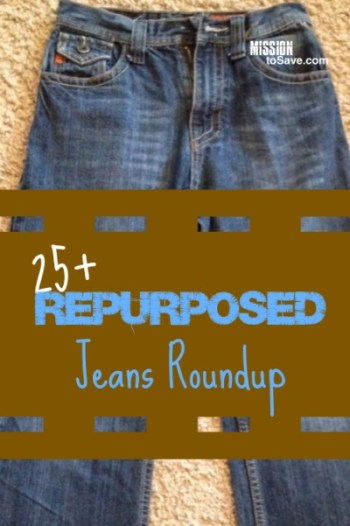 Check out these clever repurposed jeans projects.
