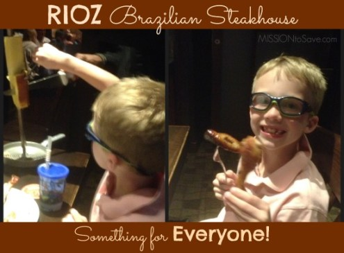 RIOZ Steakhouse has something for everyone