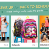 Zulily Back to School Sale! And Top 5 Trends for the School Year