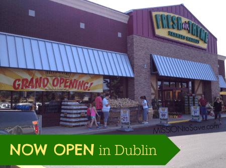 Now Open! Fresh Thyme in Dublin