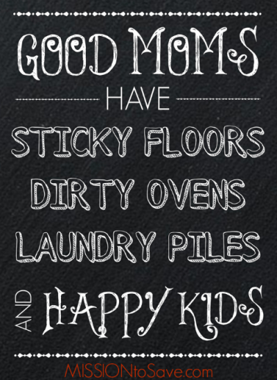 Good Moms Have Chalkboard Art Printable. Print this encouragement for Free!