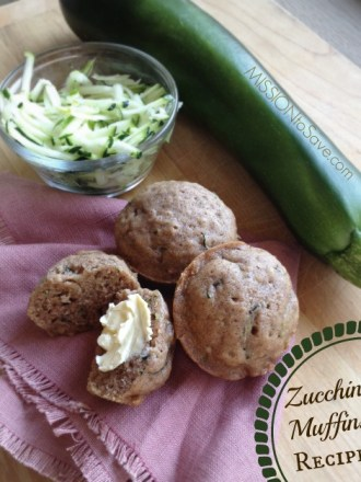 Homemade Zucchini Muffins Recipe