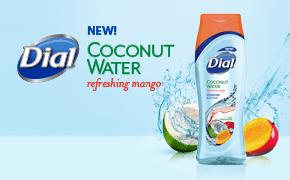 dial coconut water refreshing mango