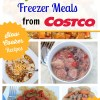20 Gluten Free Slow Cooker Freezer Meals from Costco for Just $150!