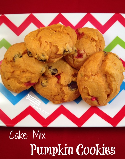 Cake Mix Pumpkin Cookies Recipe