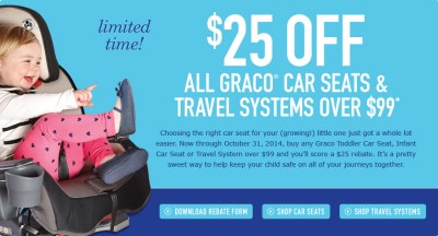 graco mail in rebate