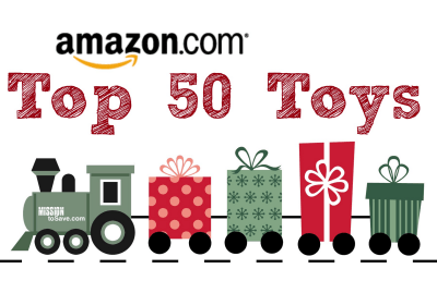 Check out the Amazon Top 50 Toys for the 2014 Holiday Season! What's on your kiddo's list?