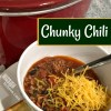 Chunky Crockpot Chili Recipe
