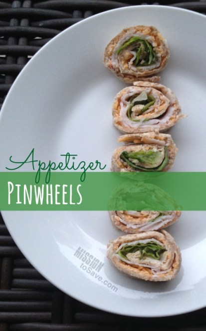 Make these Easy Appetizer Pinwheels for your next party!
