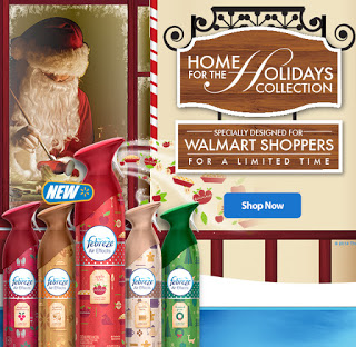 Febreze Holiday Collection Walmart 2014 #FebrezeHoliday @SheSpeaksUp