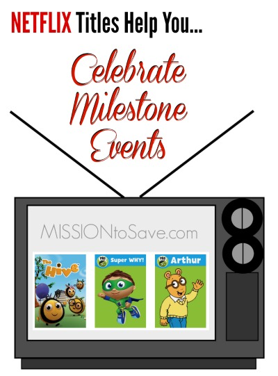 Celebrate Milestone Events with Netflix #StreamTeam
