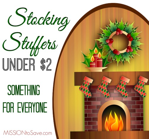 Check out today's list of 10 Stocking Stuffers for Under $2 each.  There's something here for everyone on your list!