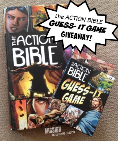 Enter to win the Action Bible Guess-It Game Giveaway (ends 11/7)