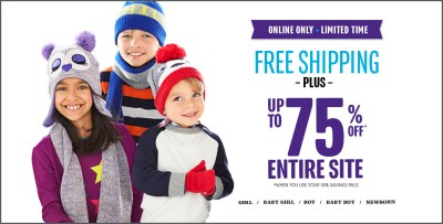 AWESOME The Children's Place Sale!  Free Ship + Promo Code too!