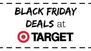 Black Friday Deals at Target