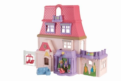 HOT price on Fisher Price Loving Family Dollhouse.  Lower than Black Friday!