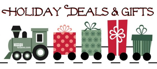 Find lots of Holiday Deals and Gift Ideas. Helping you save more and give more this Christmas.