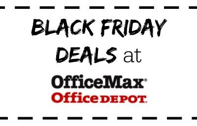 Office Depot/ OfficeMax Black Friday