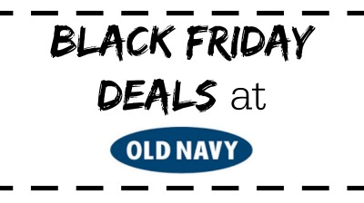 Old Navy Black Friday
