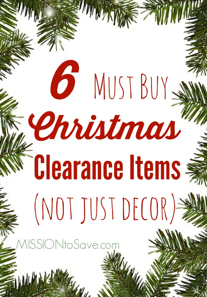 Check Out My List Of 6 Must Buy Christmas Clearance Items Not Just For Decoration