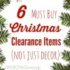 6 Must Buy Christmas Clearance Items (and I'm Not Just Talking About Lights)