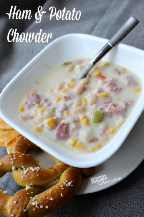 Ham and Potato Chowder recipe
