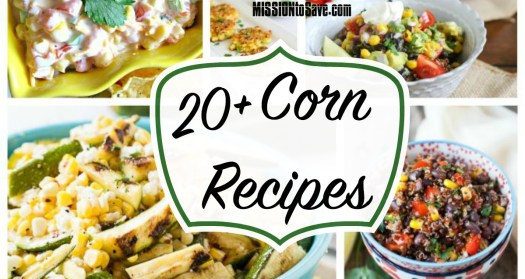While my fave way to eat is right on the cob, here is a wonder list of 20+ Corn Recipes Roundup. Rediscover this fave vegetable in a new way.