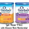 Amazon Moms FREE Gerber Good Start Infant Formula Sample Box