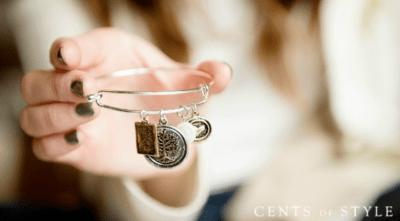 Inspirational Charm Bangle Bracelets