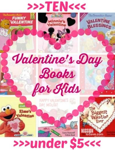 Ten Valentines Day Books for Kids Under $5