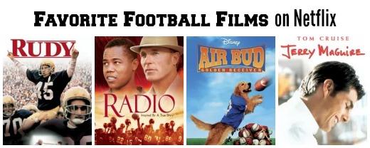 fave Football Films on Netflix