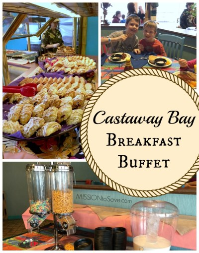 Castaway Bay Breakfast Buffet