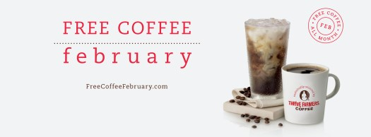 Chick-fil-A Free Coffee February offer