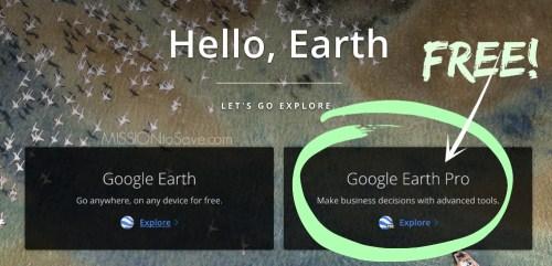 Google Earth Pro Free