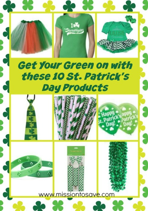 St Patrick's Day products