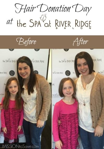 Hair Donation Day at The Spa at River Ridge