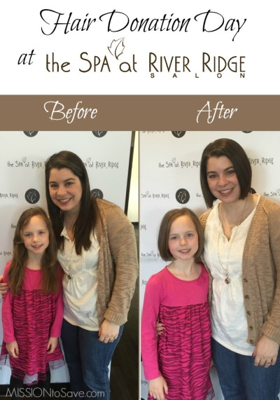 Hair Donation Day at The Spa at River Ridge