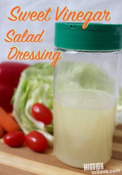 Sweet Vinegar Salad Dressing
