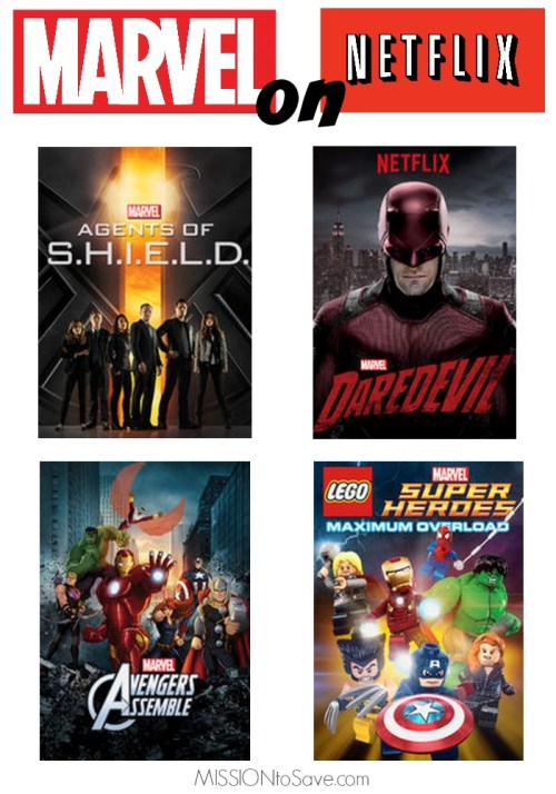 Are you a superhero fan? Check out these Marvel on Netflix shows!