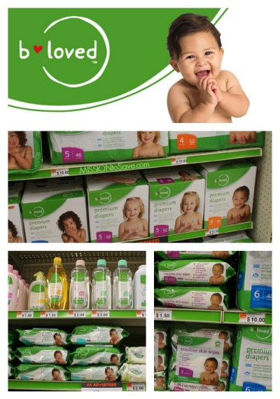 B loved Baby Care products at Big Lots