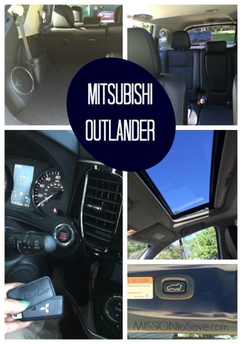 Mitsubishi Outlander - Love the Versatility