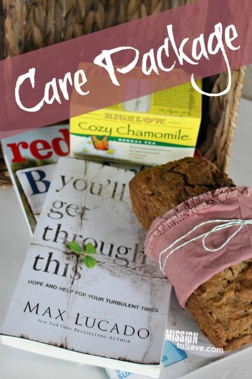 Create an Encouraging Care Package including the book You'll Get Through This by Max Lucado. #FCBlogger