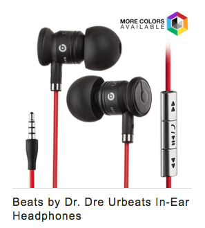 beats by Dr. Dre earbuds