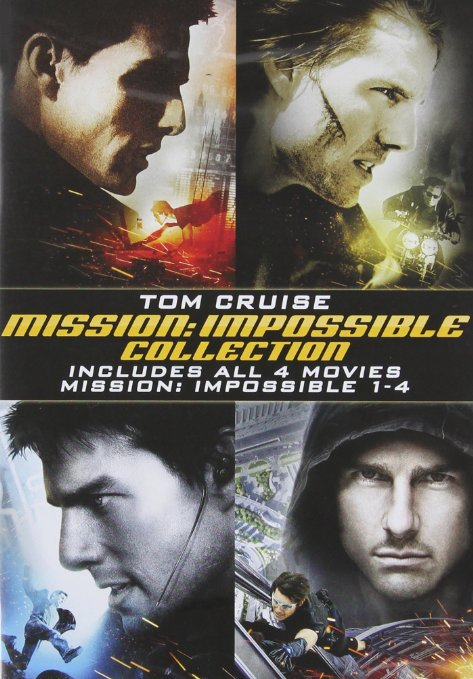Mission: Impossible 4 Disc Collectors Set