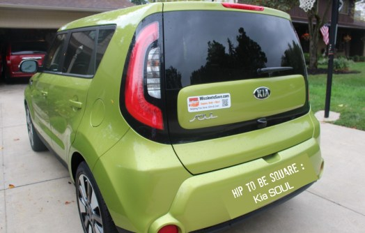 Hip to be Square in the Kia SOUL