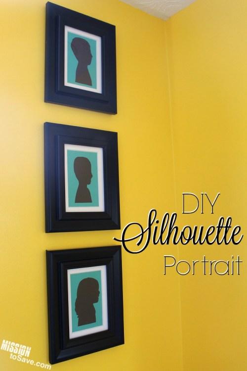 DIY Silhouette Portrait