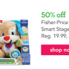Fisher Price Laugh & Learn Smart Stages Puppy Just $9.99!